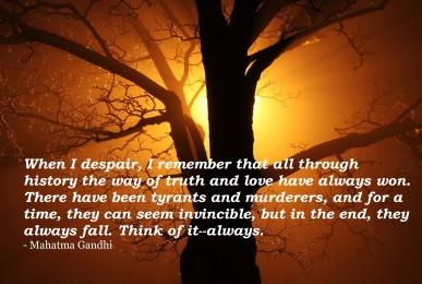 Inspirational Quote #13 despair