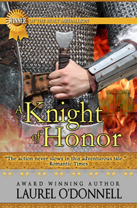 Romance Novel Cover for A Knight of Honor