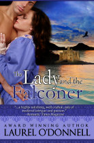 The Lady and the Falconer - medieval romance novel by Laurel O'Donnell