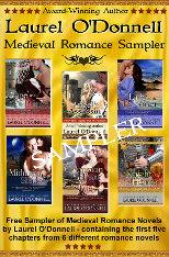 Free medieval romance novel sampler
