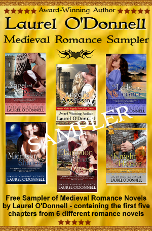Laurel O'Donnell - Medieval Romance Novel Sampler