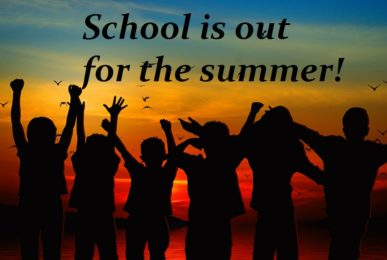school is out